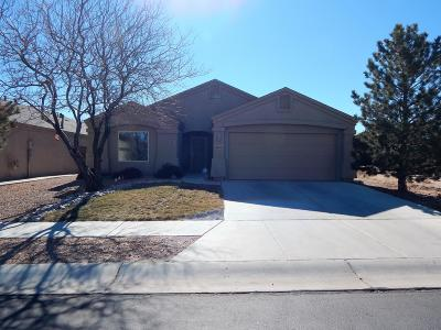 Valencia County Single Family Home For Sale: 2611 Scarlet Sage Street SW