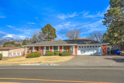 Albuquerque Single Family Home For Sale: 616 Wagontrain Drive SE