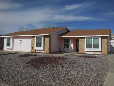 Albuquerque, Rio Rancho Single Family Home For Sale: 4547 Peridot Way NE