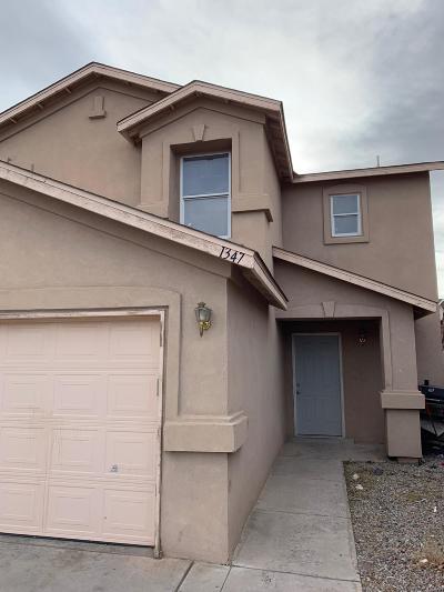 Albuquerque Single Family Home For Sale: 1347 Ojo Sarco Street SW