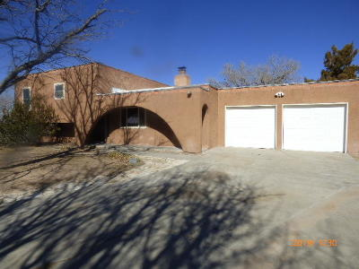 Valencia County Single Family Home For Sale: 92 Gillis Court