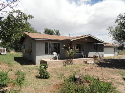 Valencia County Single Family Home For Sale: 3347 Highway 47