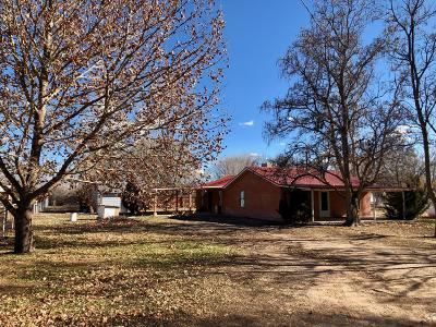 Valencia County Single Family Home For Sale: 19613 Highway 314