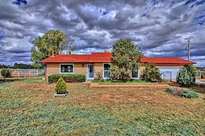 Tijeras, Cedar Crest, Sandia Park, Edgewood, Moriarty, Stanley Single Family Home For Sale: 29 Scott Road