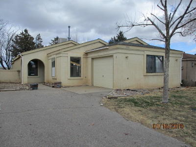 Rio Rancho Single Family Home For Sale: 1853 Peach Road NE