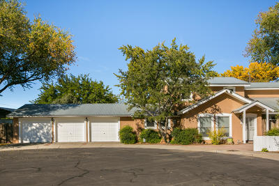Albuquerque Single Family Home For Sale: 2628 Harvest Lane NW