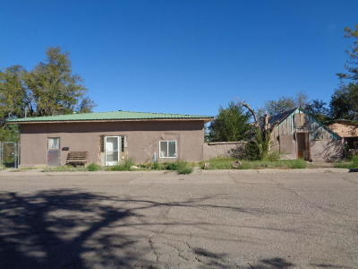 Valencia County Single Family Home For Sale: 118 Ross Avenue