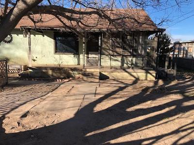 Albuquerque Single Family Home For Sale: 1913 Barcelona Road SW