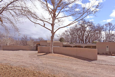 Corrales Single Family Home For Sale: 170 Camino Bajada