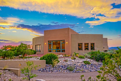 Placitas, Bernalillo Single Family Home For Sale: 1 Cielo Grande Drive
