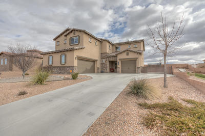 Rio Rancho Single Family Home For Sale: 1532 Cereza Drive SE