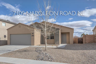 Albuquerque, Rio Rancho Single Family Home For Sale: 7109 Napoleon Road NE