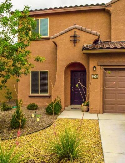 Albuquerque Single Family Home For Sale: 9635 Basalt Peak Drive NW