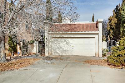 Single Family Home For Sale: 11429 Malaguena Lane NE