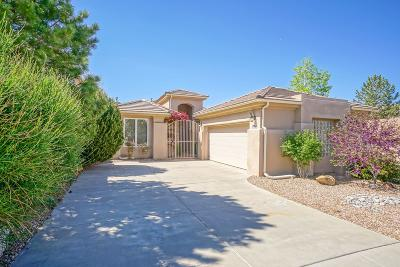 Single Family Home For Sale: 12700 Desert Marigold Lane NE