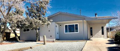 Albuquerque Single Family Home For Sale: 1128 Maxine Street NE