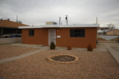 Albuquerque Single Family Home For Sale: 2941 Morningside Drive NE