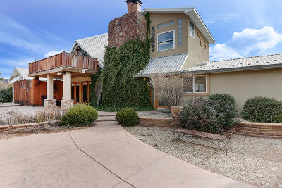 Albuquerque Single Family Home For Sale: 34 Riddle Road SE