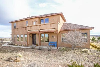 Tijeras, Cedar Crest, Sandia Park, Edgewood, Moriarty, Stanley Single Family Home For Sale: 62 High Meadow Loop