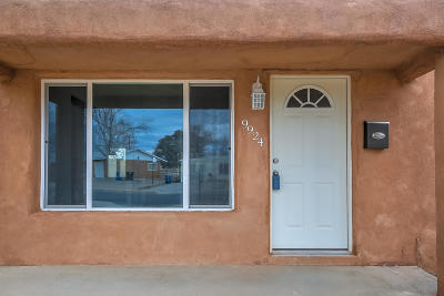 Albuquerque Single Family Home For Sale: 9924 Leyendecker Road NE