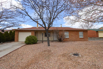Rio Rancho Single Family Home For Sale: 735 Stagecoach Road SE