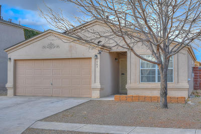 Albuquerque Single Family Home For Sale: 543 Whispering Street SW