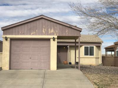 Rio Rancho Single Family Home For Sale: 1960 Strawberry Drive NE