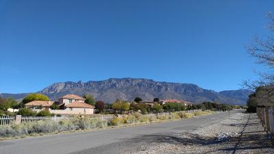Albuquerque Residential Lots & Land For Sale: 10108 San Bernardino Drive NE