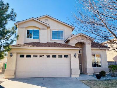 Rio Rancho Single Family Home For Sale: 820 Ocate Meadows Drive NE
