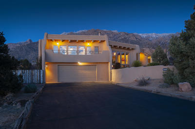 Sandia Heights Single Family Home For Sale: 545 Black Bear Loop NE
