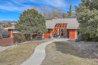 Albuquerque Single Family Home For Sale: 13307 Cedarbrook Avenue NE