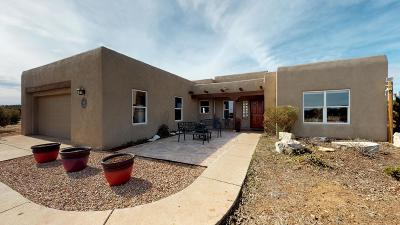 Tijeras, Cedar Crest, Sandia Park, Edgewood, Moriarty, Stanley Single Family Home For Sale: 16 Koli Court