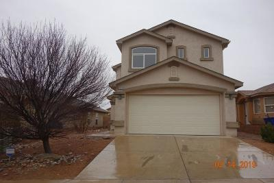 Albuquerque Single Family Home For Sale: 9120 Blue Meadow Trail SW