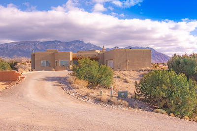Placitas Single Family Home For Sale: 5 Solar Court