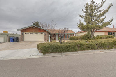 Albuquerque Single Family Home For Sale: 9515 Tasco Drive NE