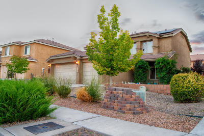Albuquerque Single Family Home For Sale: 1409 Wind Ridge Drive NW