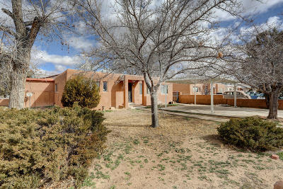 Albuquerque Single Family Home For Sale: 2225 Beryl Court NW