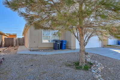 Albuquerque Single Family Home For Sale: 8404 Trotter Road SW