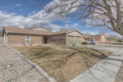 Albuquerque Single Family Home For Sale: 5221 Sooner Trail