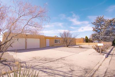 Albuquerque Single Family Home For Sale: 5728 Alegria Road