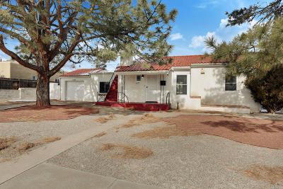 Albuquerque Single Family Home For Sale: 4033 Smith Avenue SE