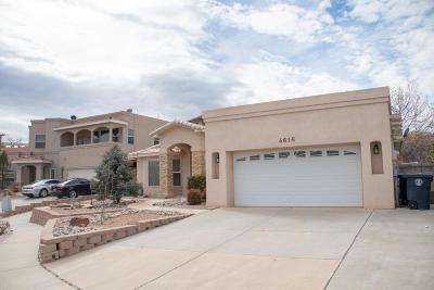 Albuquerque Single Family Home For Sale: 4616 Crestridge Avenue NW