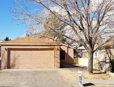 Rio Rancho Single Family Home For Sale: 1625 Jane Place NE