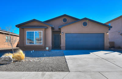 Rio Rancho Single Family Home For Sale: 6624 Mountain Hawk Loop NE