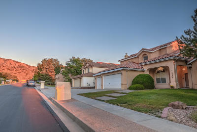 Albuquerque Single Family Home For Sale: 13612 Vic Road NE