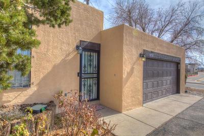 Attached For Sale: 8809 Comanche Road NE