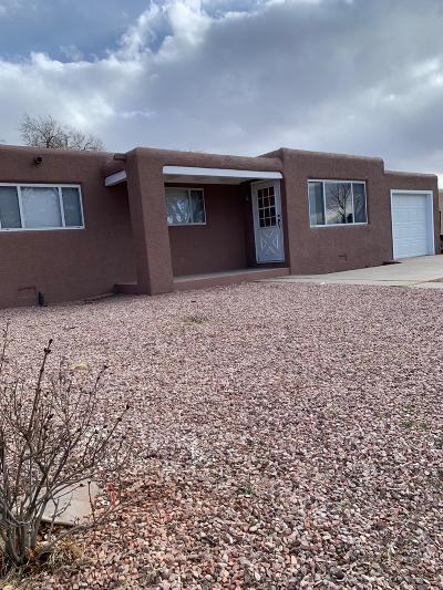 Albuquerque Single Family Home For Sale: 3806 Veranda Road NE