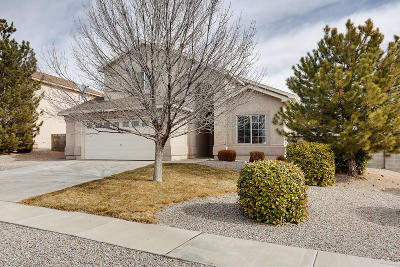 Rio Rancho Single Family Home For Sale: 3301 Stony Meadows Circle NE