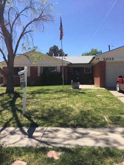 Albuquerque NM Single Family Home For Sale: $255,000