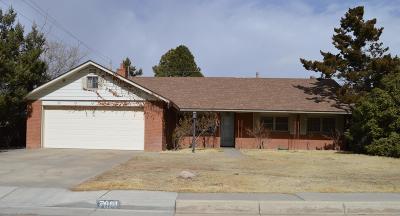 Albuquerque Single Family Home For Sale: 7001 Seminole Road NE